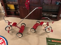 toddler's red-and-grey trike Denver, 80249