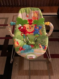 Bran new baby bouncing chair with music and toys Mississauga, L5J 3Z3