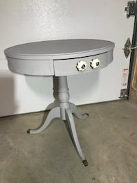 Beautifully updated Antique Table.