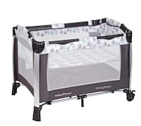 baby's gray and black travel cot Collingdale, 19023