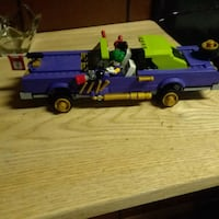 blue and green plastic toy truck 528 mi