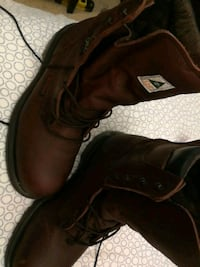 Redwing construction boots