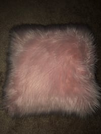 pink furry pillow Caledon, L7C 2E9