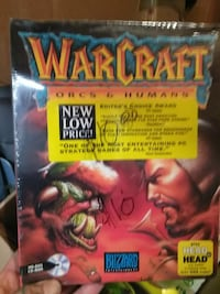 Warcraft Orcs & Humans DVD case