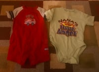 Size 18 months. Lot of 2 18 months baby toddler boy outfits Saginaw, 48609