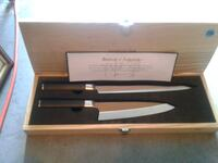 Kamikoto Japanese chiefs knife set new with case Burtonsville, 20866