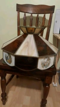 Stained light fixture