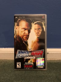 WWE Smackdown vs Raw 2009 PSP South Plainfield, 07080