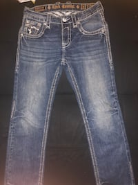 Blue rock revival denim jeans Dayton, 45406
