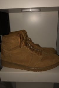 "Jordan 1 Retro ""Wheat"" Size 10.5 Windsor, N8S 1A9"