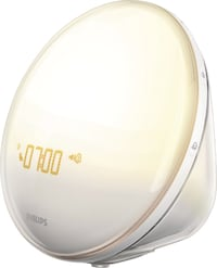 Moving Sale! Philips - Wake-Up Light with Radio - White/Gray Austin, 78704