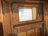 Antique wooden fireplace Chicago, 60647
