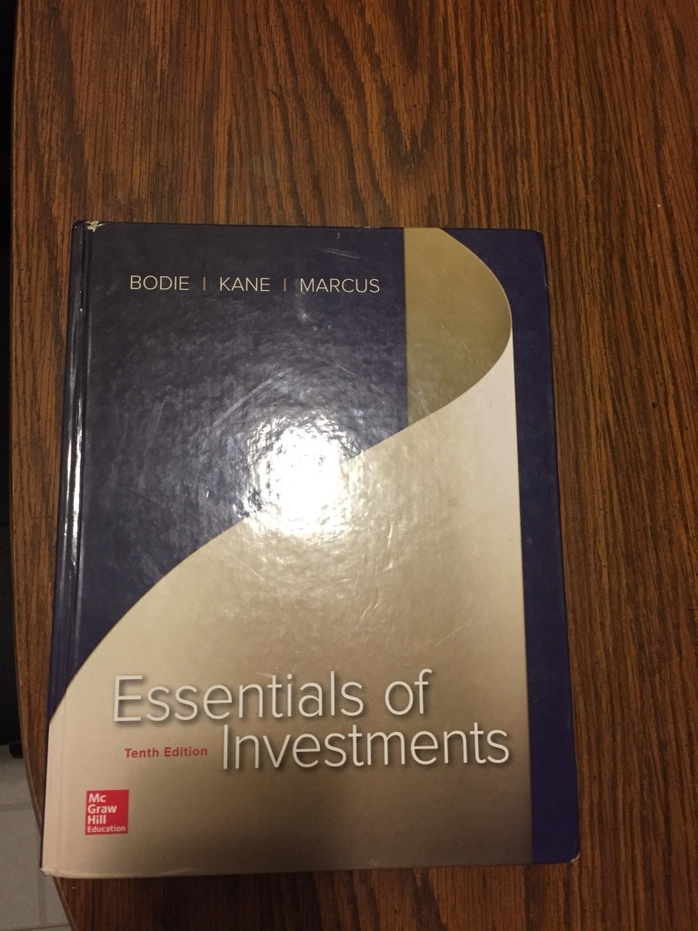 Photo Essentials of Investments 10th edition, University of Utah