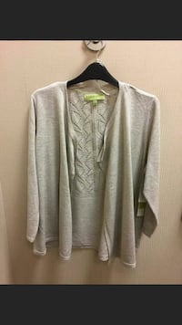 tan cover up sweater size large  Bay Minette, 36507