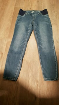 Foxy large maternity jeans