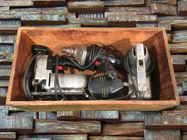 TOOLS: Craftsman Router / Scroll Saw / Drill / Sander
