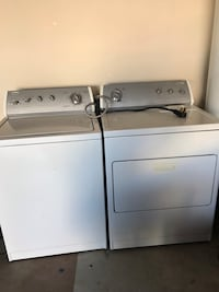White top load clothes washer and dryer  Chesapeake, 23320