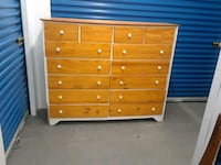 Fourteen Drawer Wooden Dresser  Hyattsville, 20781
