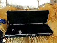 Bullhorn guitar case for bass guitar