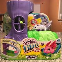 Little Live Pets S1 Lil' Fluffy Friends - Lil' Fluffy Tree House - Blossom Bunny Houston, 77078