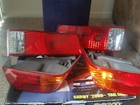 2000 Toyota Camry  pair of automotive taillights CAPITOLHEIGHTS