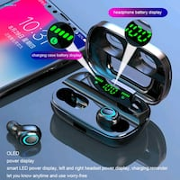 SoundSaint TWS-11 Bluetooth 5 Earbuds for Android or Iphone