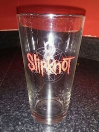 clear SlipKnot drinking glass Granby, J2H