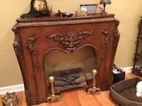 Mahogany fire mantle Miami Springs