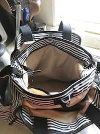 black and white striped diaper bag Escondido, 92025