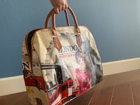 White and red tote bag Milpitas, 95035