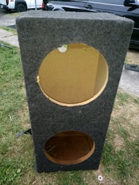 black and brown subwoofer enclosure Columbus, 43204