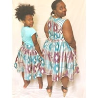 African Print Mother & Daughter Set Washington, 20003