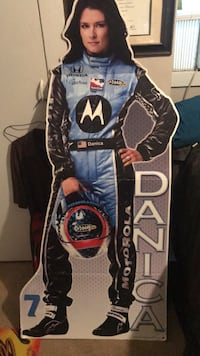 Danica Patrick cut-out / only one around Pearl, 39208