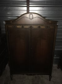 Double Bedroom set from 1920s. Includes Armoire, vanity and mirror, dresser with mirror Gaithersburg, 20879