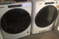 Whirlpool washer and dryer not even a year old  Omaha, 68106
