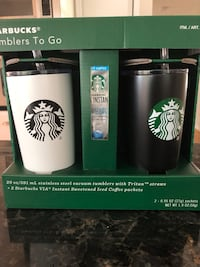 Large 20 oz Starbucks Stainless Steel Tumblers Germantown, 20874