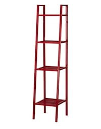 Ikea Lerberg Shelving Unit in Red