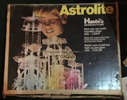 Astrolite by Hasbro. Build Clear Structures over Colored Light