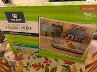 Must go! Medium Sized Dog Crate and Bed Alexandria, 22311