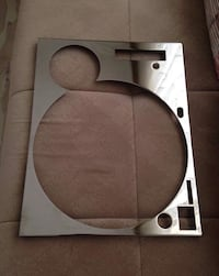 Technics sefour deck-plate chrome 1200 / 1210 .