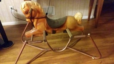 Old Childs Rocking Horse