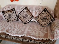 brown and white floral sofa Ludhiana, 141001