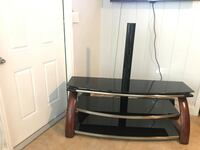 black and gray TV stand Oakland Park, 33334