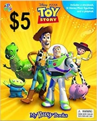 PHIDAL TOY STORY STORYBOOK PLAYSET WITH FIGURINES