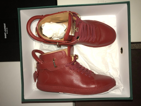 Buscemi's 100mm sneakers