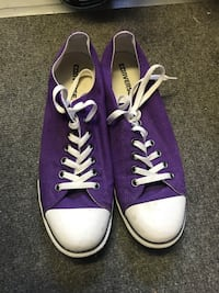 Purple Converse Shoes  null, V0H