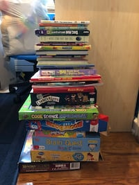 Books and board games. Jersey City, 07310