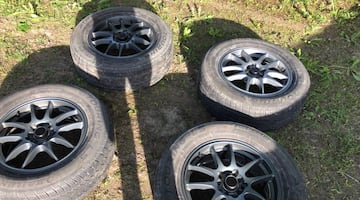 Summer wheel and tire package