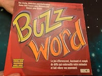 Buzz word board game