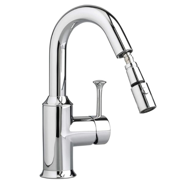 American Standard Pekoe Bar Faucet with Pull-Out Spray